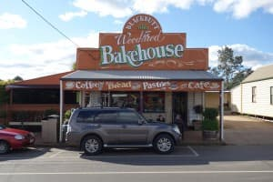 The famous Blackbutt Bakery.
