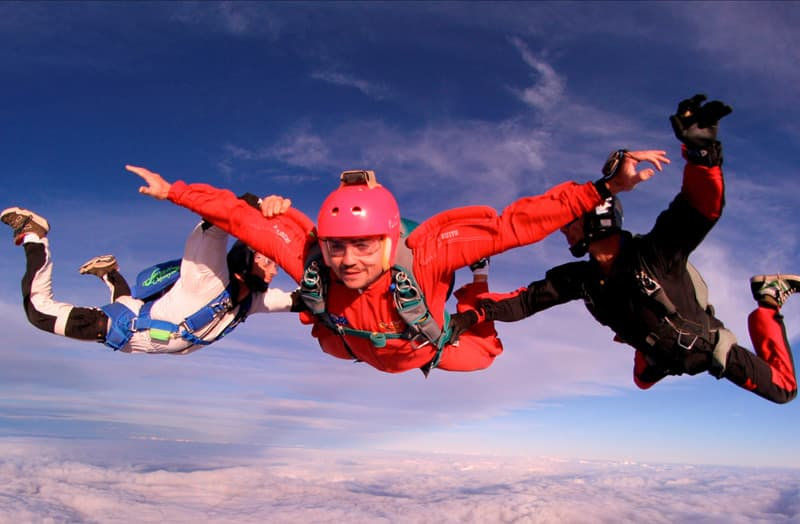 13 skydive